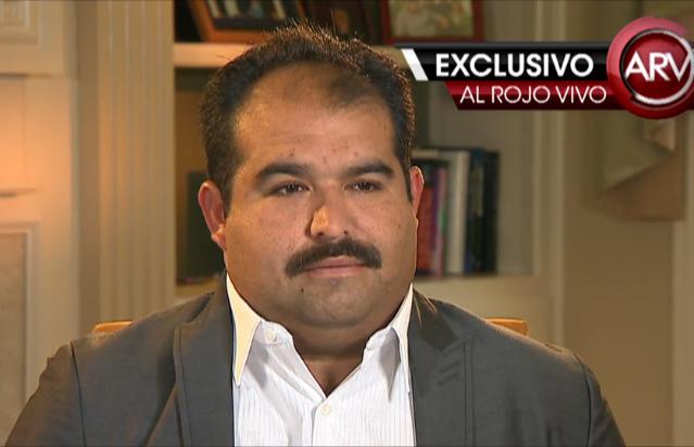 Por primera vez habla el acusador de Larry Hernández