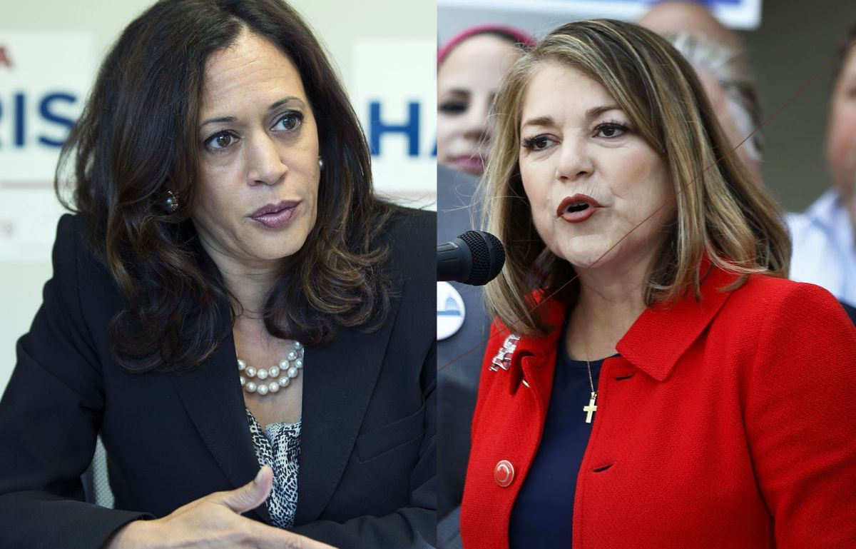 Tres políticos hispanos dan su apoyo a Fiscal de California Kamala Harris en pos del Senado
