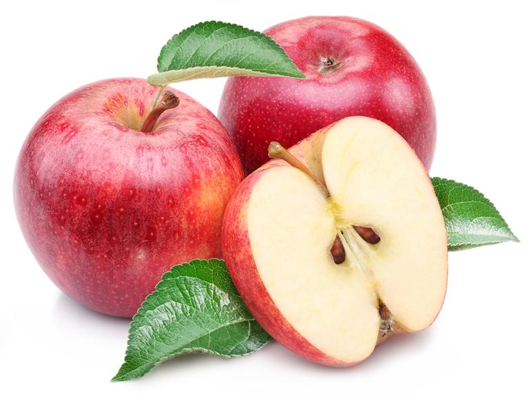 Entre las principales aportaciones de las manzanas se encuentra su alto contenido en fibra, también posee un efecto saciante, es un alimento antioxidante y tiene propiedades diuréticas.
