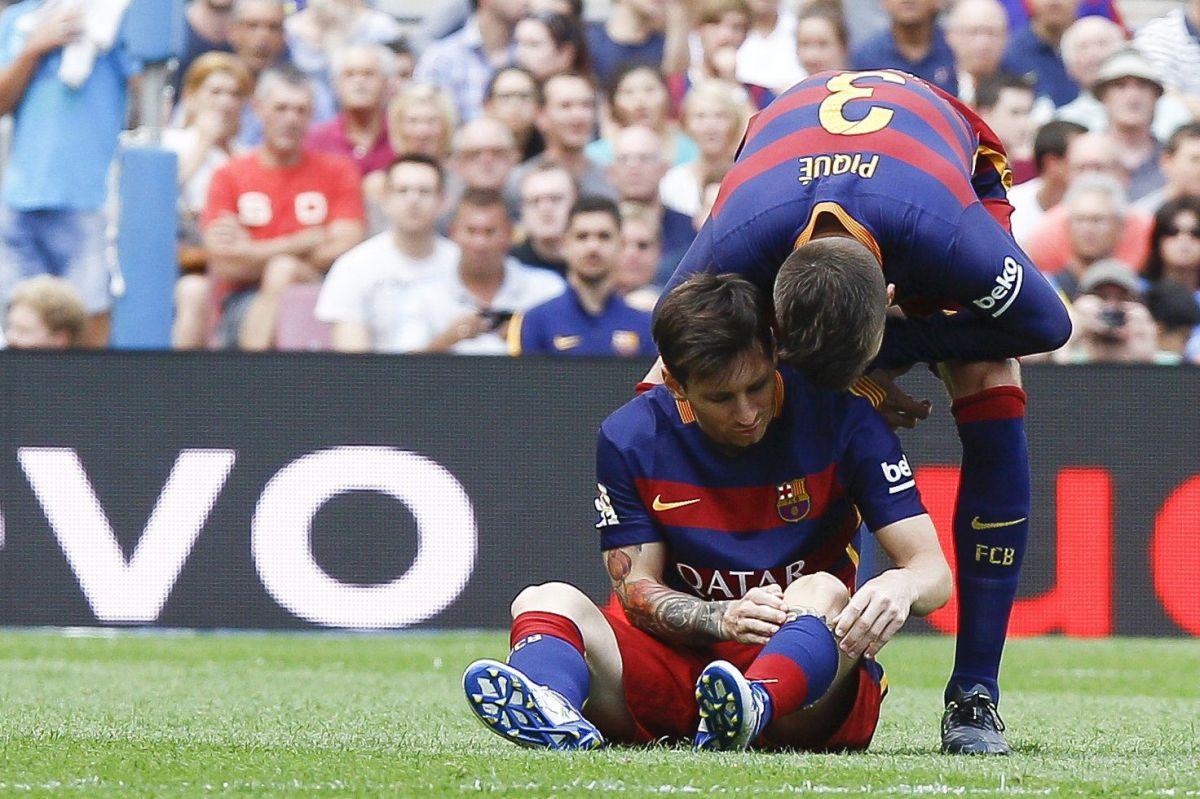 Messi no se recuperaría para el Clásico ante Real Madrid