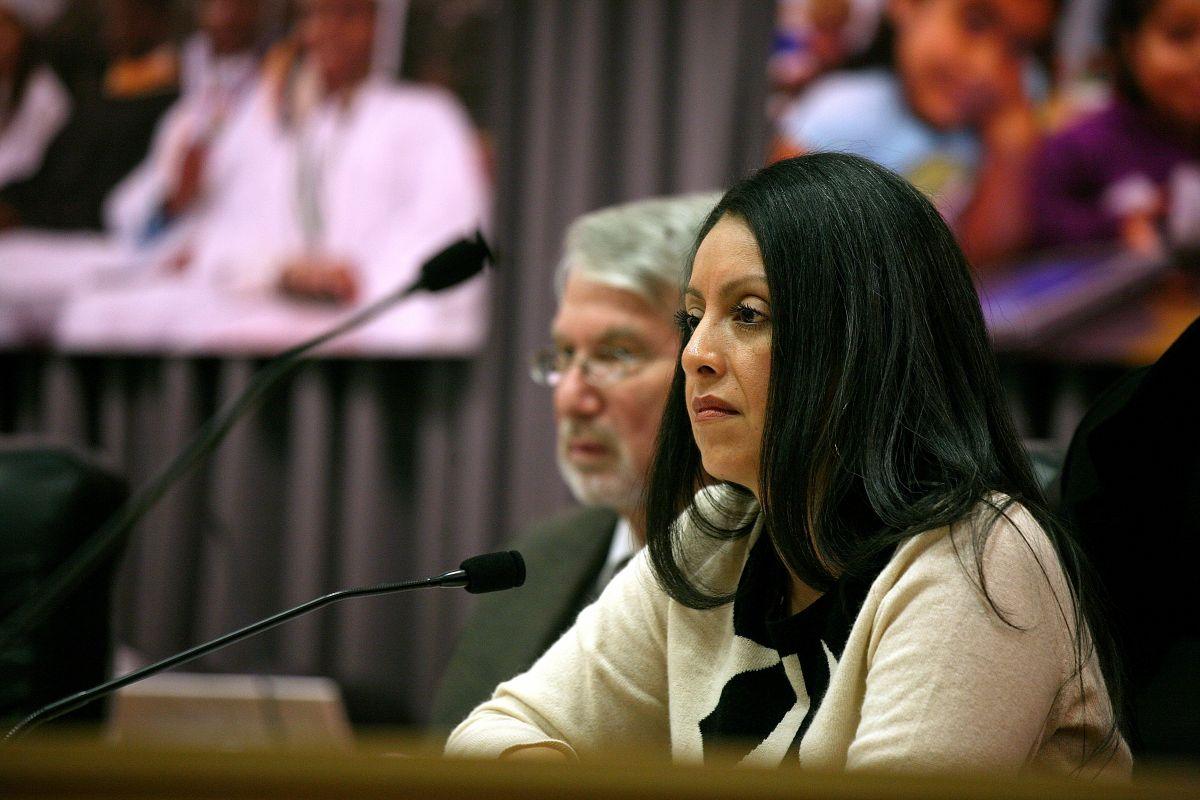 La concejal de Los Ángeles, Nury Martínez.