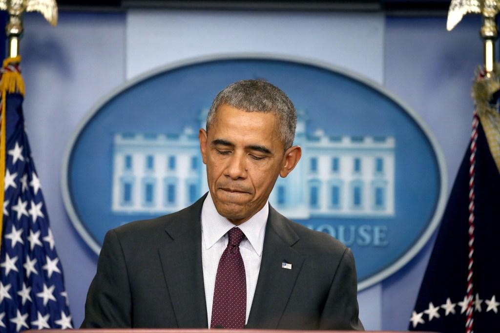 El presidente Obama habla de la masacre ocurrida en una escuela en Oregon.
