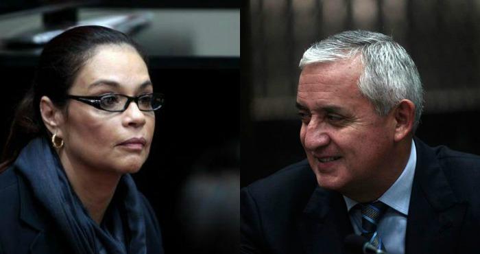 Guatemala: Pérez Molina y Baldetti investigados en El Salvador por lavado de dinero (VIDEO)