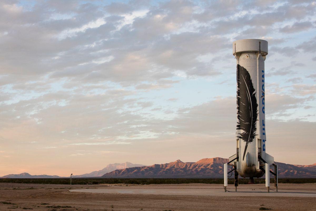 El cohete Blue Origin, competidor de Space X logró un importante avance espacial.