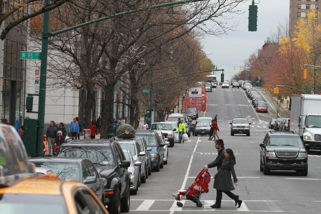 Avenidas amplias son características en Manhattan Valley. Mariela Lombard