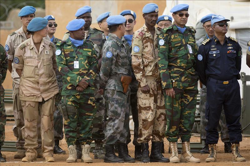 La ONU mantiene un gran contigente de civiles y militares en Mali.