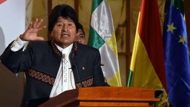 "Evo Morales se disculpa por comentarios sobre ministra ""lesbiana"" (VIDEO)"