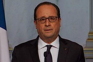 """Ataques en París: """"Es un horror"""", dice el presidente francés François Hollande"""