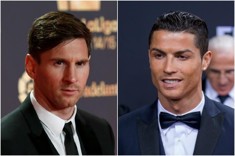 Messi y Cristiano empataron en noviembre