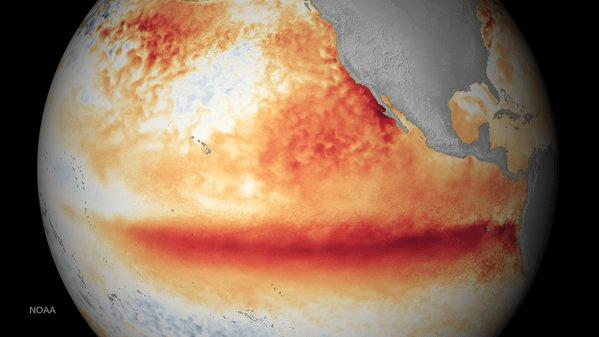 El Niño ya llegó y será una tormenta tras otra, predice NOAA
