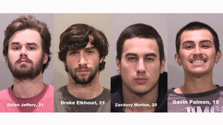 Los cuatro hombres fueron detenidos el pasado sábado en Fremont, California.