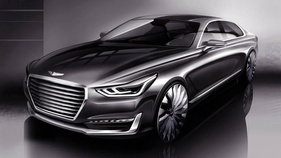 El Genesis G90 sorprenderá en diciembre