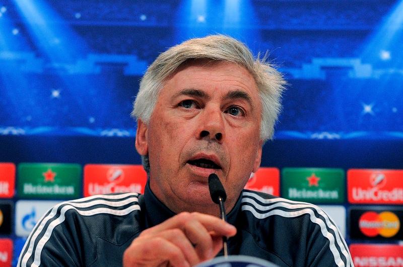 Ancelotti, entrenador del Real Madrid.