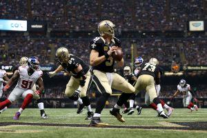 Brees gana el carnaval de touchdowns a Manning en juego para el libro de récords