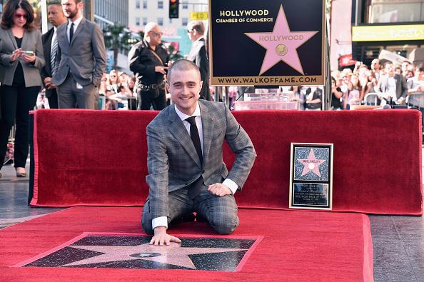 Radcliffe estuvo acompañado en el evento por el humorista Chris Hardwick y el cineasta Chris Columbus.