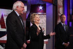 Clinton y O'Malley defienden la reforma migratoria en debate demócrata