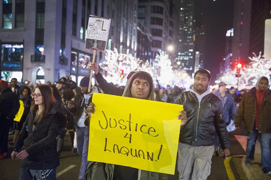 La muerte generó protestas en Chicago.