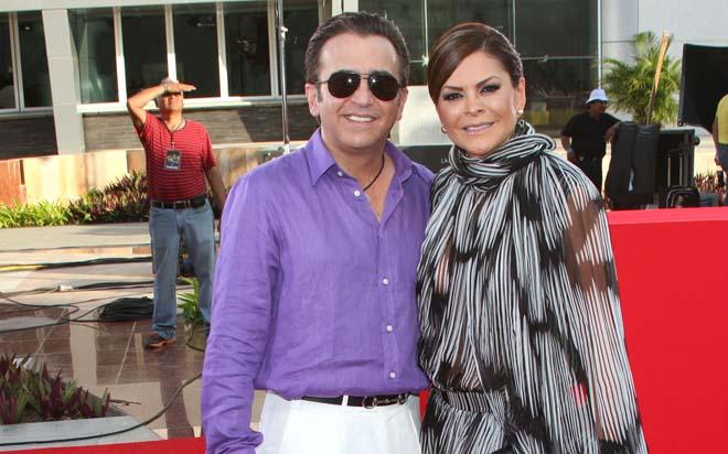 Vicente Fernández Jr. y Maria Patricia Castañeda estuvieron casados ocho años.