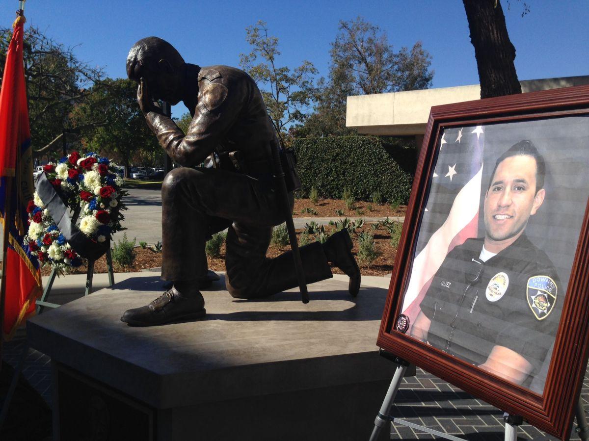 """Ricardo """"Ricky"""" Galvez, de 29 años, fue asesinado afuera de la Estación de Policía de Downey."""
