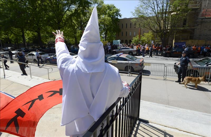 El Ku Kux Klan ha realizando antes mítines en el condado de Orange.