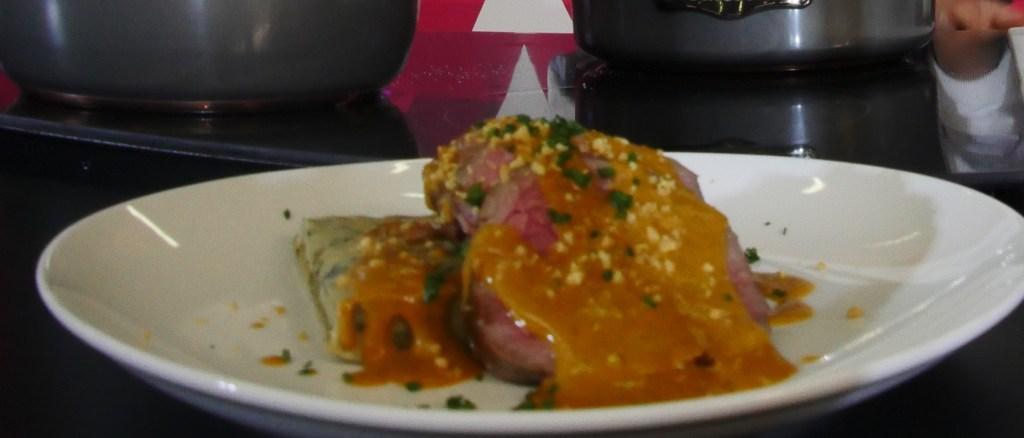 Lamb with peanut sauce - Margarita Carrillo and Arnie Marcella - Guadalajara 2