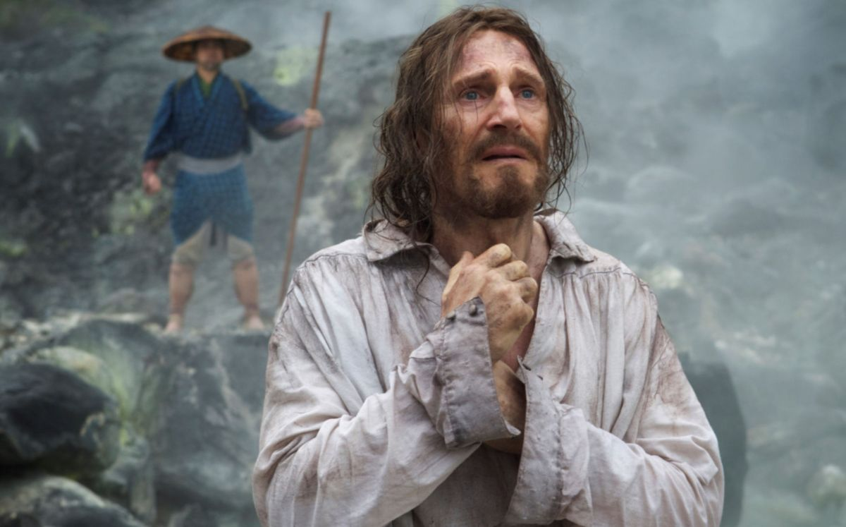 Liam Neeson quiere hacer historia con 'Silence'. De ella nos habla