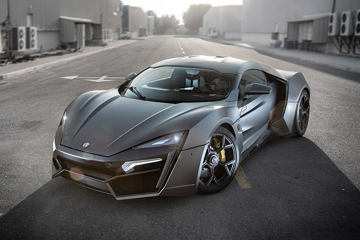 lykan-hypersport gris