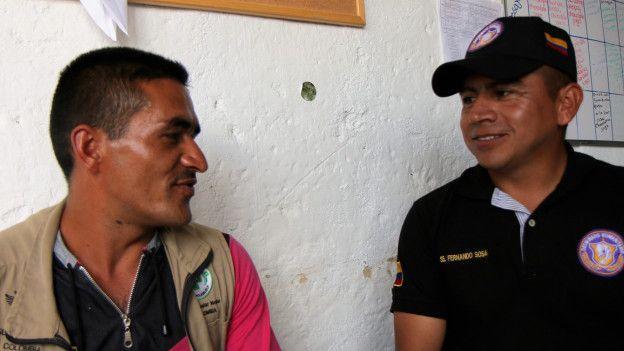 El lugar donde guerrilleros de las FARC y soldados colombianos trabajan juntos por primera vez