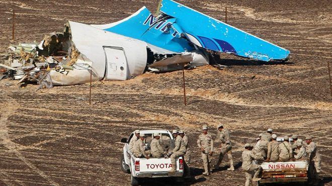 ¿Hay evidencia para creer que ISIS que derribó el avión ruso en el Sinaí?