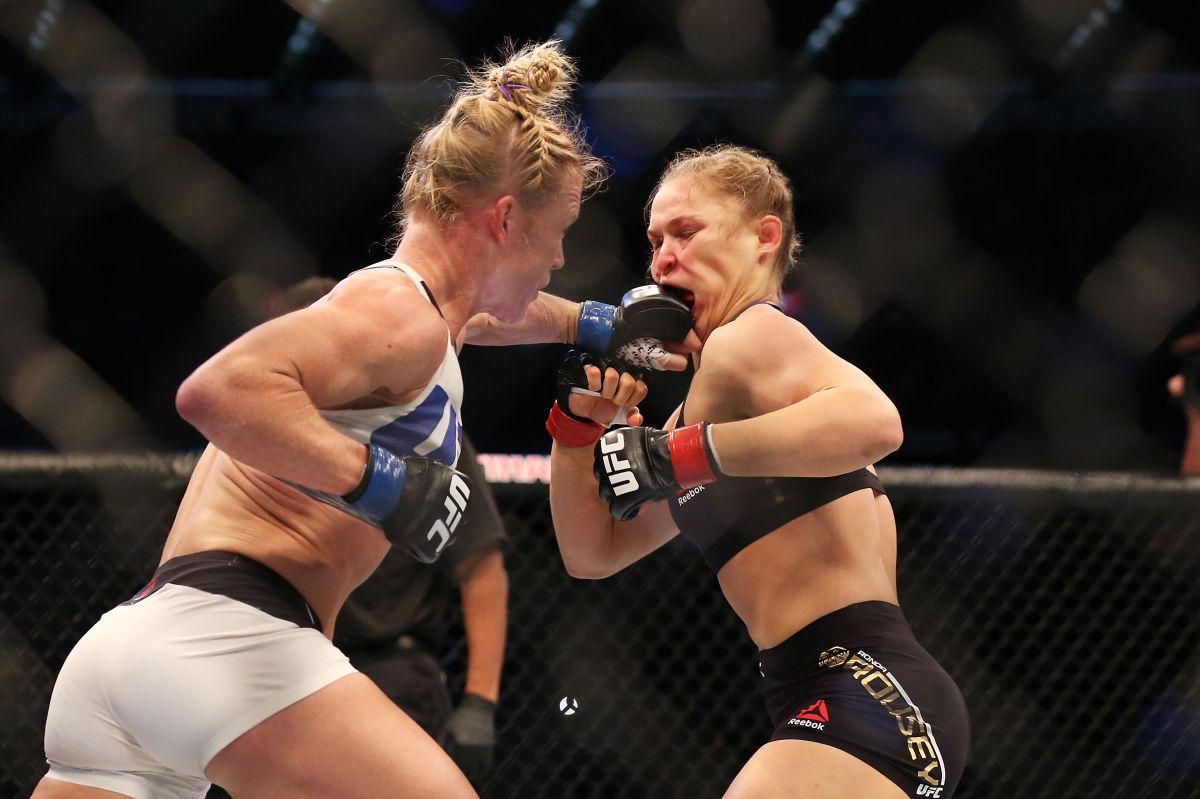 Ronda Rousey se recupera de la fractura de quijada y está más cerca de regresar contra Tate