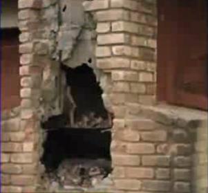 Supuesto ladrón muere tras quedar atrapado dentro de chimenea