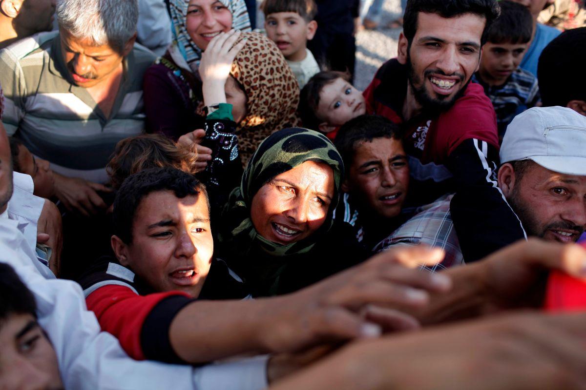 Refugiados sirios en el centro de la campaña presidencial