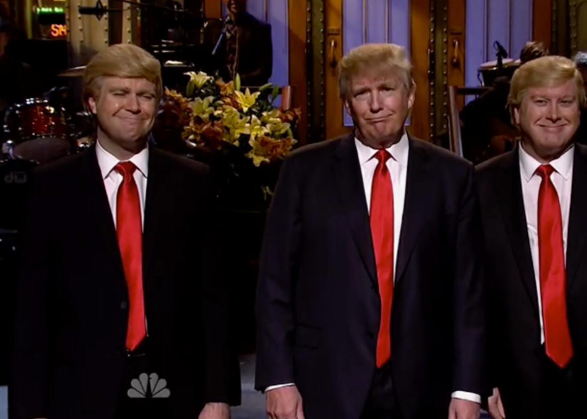 Triunfo de audiencia de Donald Trump en 'Saturday Night Live'