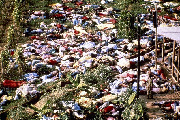 El 18 de noviembre de 1978 ocurrió el que es considerado el mayor suicidio colectivo de la historia: murieron 918 personas.