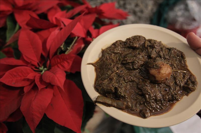 Romeritos, la ambrosía de los mexicanos en época de Navidad (video y fotos)