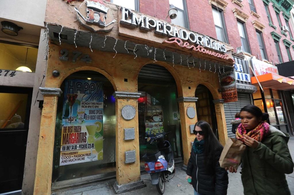 El Emperador, comida latina en Broadway. Mariela Lombard / El Diario.