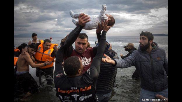 Las historias más impactantes de 2015 en fotos