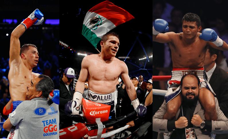 'Triple G', 'Canelo' Álvarez o 'Chocolatito' González… ¿quién fue el mejor boxeador del 2015?