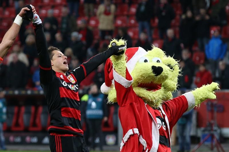 Chicharito fue elegido ganador del 'Bundesliga Idol'