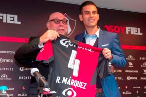 Rafa Márquez ya fue presentado con el Atlas