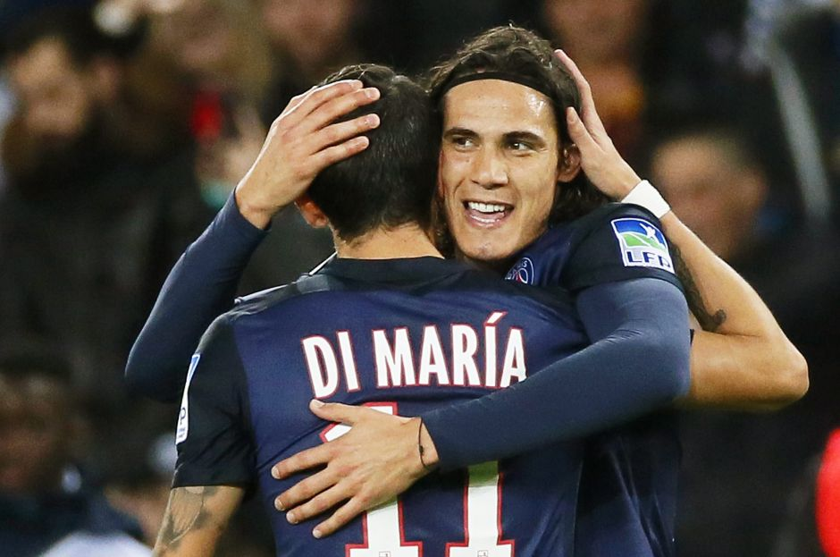 Cavani y Di María se combinan para un golazo y logran el pase del PSG en la Copa