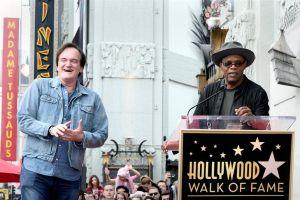 Quentin Tarantino ya tiene su estrella en el Paseo de la Fama de Hollywood