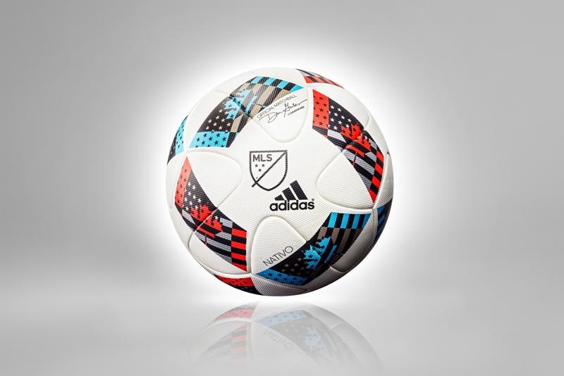 Adidas y la MLS presentaron el balón oficial para el 2016