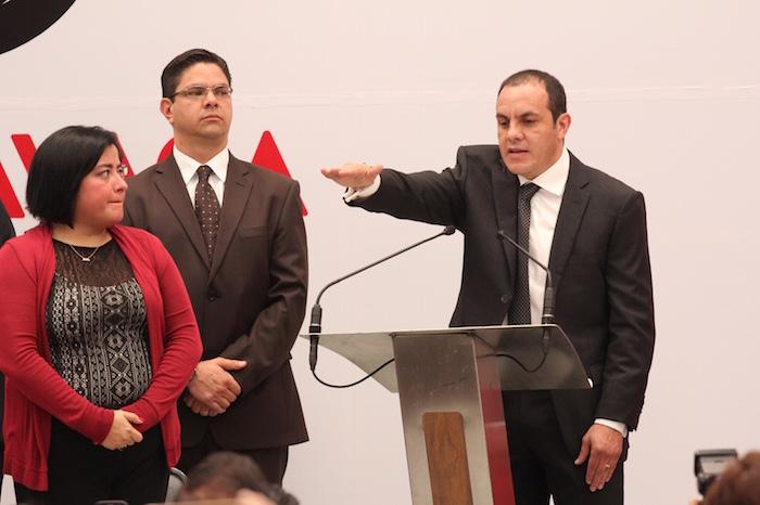 'El Cuau' asume el mando de Cuernavaca