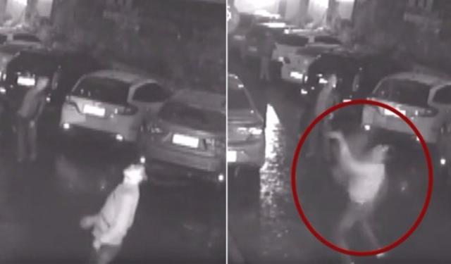 ¡Captado en video! Intentó atrapar a mujer que cayó desde edificio de 11 pisos