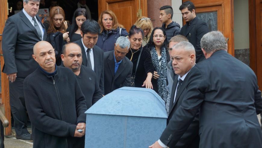 Funeral de Ovidio Jaramillo