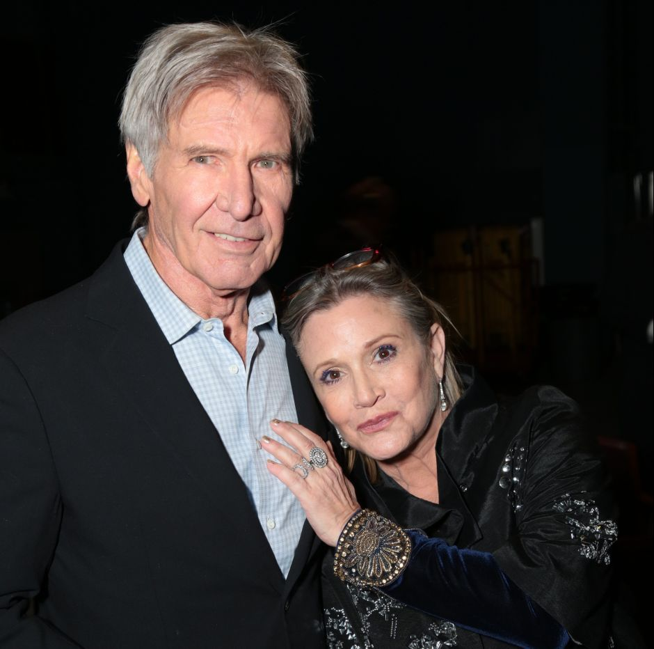 "¿Carrie Fisher tuvo un romance con Harrison Ford en ""Star Wars""?"