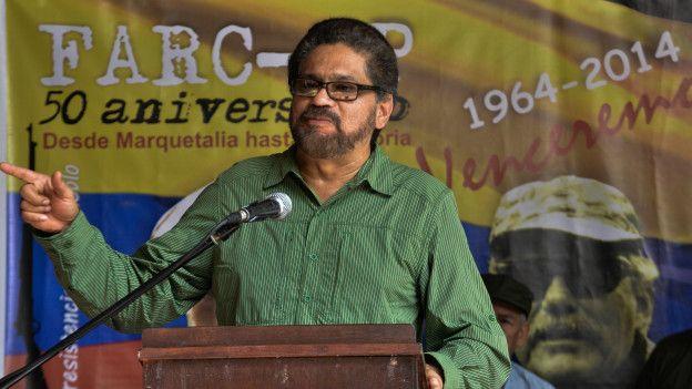 Las FARC cumplieron 50 años de levantamiento armado en 2014.