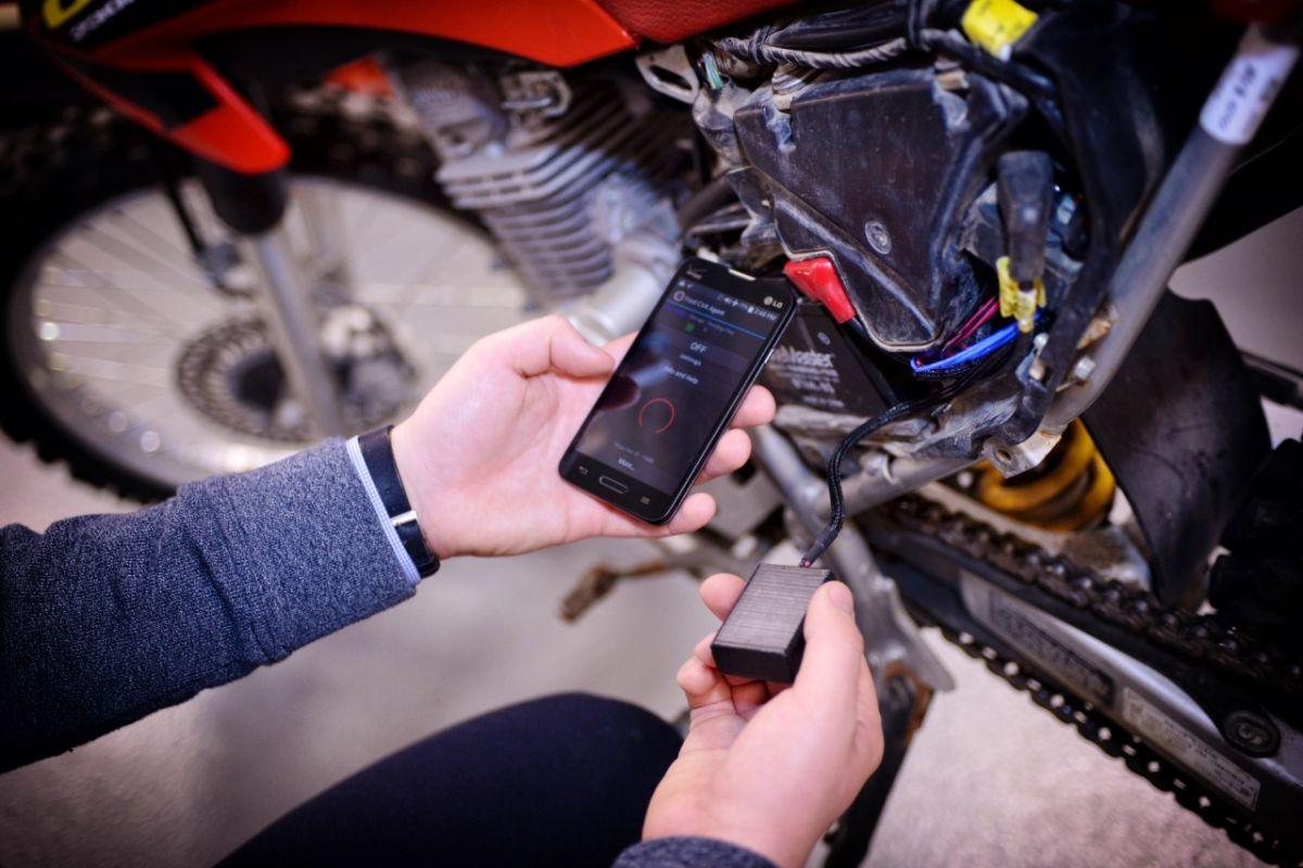 Ford aplica su tecnología de sensores a motocicletas