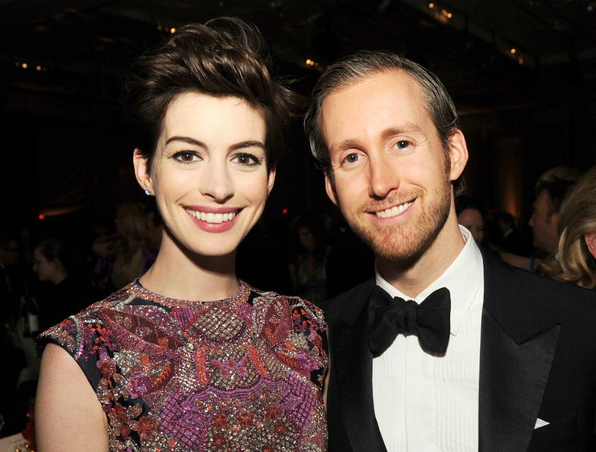 ¡Anne Hathaway dio la bienvenida a su primer hijo!